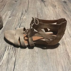 Euro Sofft Suede Sandals